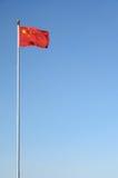 chińczyk flaga Zdjęcie Stock