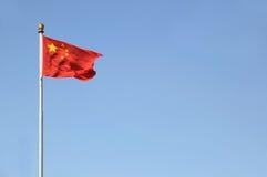 chińczyk flaga Obrazy Royalty Free