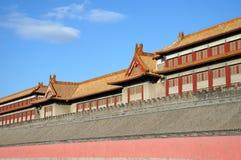 Chińczyk, Pekin. Niedozwolony miasto Zdjęcia Stock