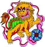 chińczyka artystyczny wzór Obraz Royalty Free