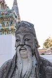 Chińczyka Buddha statui wata arun Bangkok Thailand Zdjęcie Stock