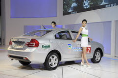 chińczyka changan sedan cx30 Fotografia Stock