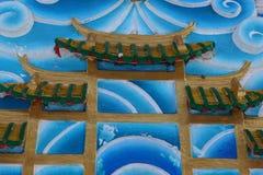 Chińczyka dach zdjęcia stock