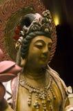 Chińczyka Guanyin Bodhisatva postura Fotografia Royalty Free
