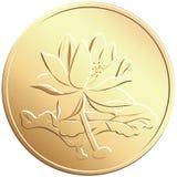 chińczyka monety wektor ilustracji