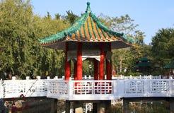 Chińczyka ogród przy Sheung Shui, Hong Kong Fotografia Stock