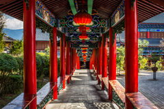 Chińczyka Outdoor korytarz Fotografia Stock