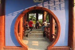chińczyka tradycyjny ogrodowy Zdjęcia Royalty Free