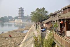 Chińczyka Yuantong stary miasteczko Zdjęcie Royalty Free