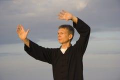 'chi' del Tai Fotografia Stock Libera da Diritti