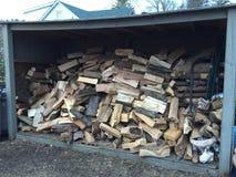 Chi ha un cavo di legno Immagine Stock Libera da Diritti