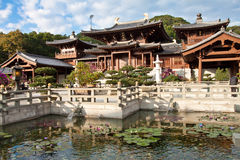 chi Hong kong Lin nunnery Zdjęcia Royalty Free