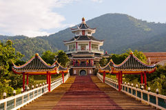 Chi Kong Chinese Temple Stock Image