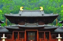 Chi lin buddhist monastery Royalty Free Stock Photos