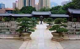 Chi Lin Buddhist Nunnery Hong Kong Stock Photography