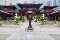 Chi Lin Buddhist Nunnery Hong Kong Stock Photo