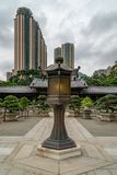 Chi Lin. Nunnery in Hong Kong royalty free stock image