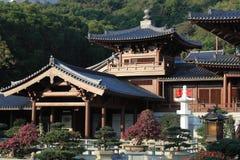 chi Lin klasztorze Zdjęcia Stock
