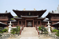 Chi Lin Nunnery. Tang dynasty style Chinese temple stock images
