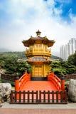 Chi Lin Nunnery drewniana świątynia Zdjęcia Stock