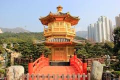 Chi Lin Nunnery, een grote Boeddhistische complexe tempel gelegen in Diameter Stock Afbeelding