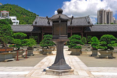 Chi Lin Nunnery in Hong Kon Royalty Free Stock Images
