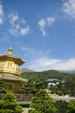 Chi Lin Nunnery in Hong Kong. It is a tempo in China Royalty Free Stock Photos