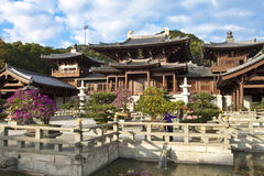 Chi Lin Nunnery, Hong Kong. The Chi Lin Nunnery was founded in 1934 but was rebuilt in the 1990s Stock Images