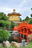 Chi Lin Nunnery, Hong Kong Zdjęcia Royalty Free