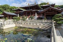 Chi Lin Nunnery in Hong Kong, China Stock Photo