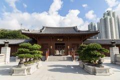 Chi Lin Nunnery in Hong Kong, China Stock Photography