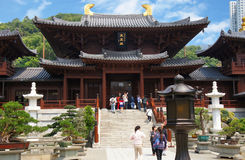 Chi Lin Nunnery Royalty Free Stock Image