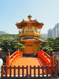Chi Lin Nunnery, Hong Kong, Kina Arkivbild