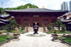 Chi Lin Nunnery Inner courtyard Royalty Free Stock Photo