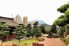 Chi Lin Nunnery royalty free stock photo
