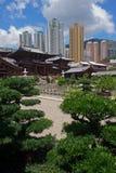 Chi lin Nunnery, Tang dynasty style Chinese temple, Hong Kong.  Stock Images