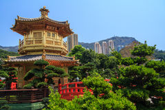 Chi Lin Nunnery Temple Royalty Free Stock Photo