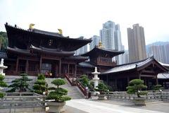 Chi Lin Nunnery royalty free stock photos