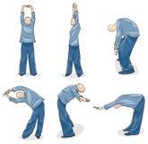chi mężczyzna ćwiczyć tai Fotografia Royalty Free
