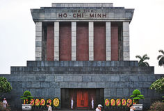 Chi ελάχιστο Masoleum, Ανόι Ho Στοκ Εικόνες