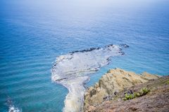 Chi-mei Island is Offshore Islands of Taiwan in penghu. There is a scenery `little Taiwan` stock image