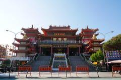 Chi Ming pałac przy Lotosowym jeziorem Zdjęcie Stock