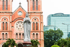 Chi Minh Ville Basilica de HÃ photographie stock