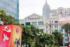 Chi Minh Ville de HÃ du centre Image stock