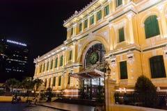 Chi Minh Ville de HÃ du centre : le bureau de poste Photographie stock