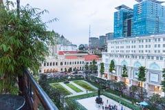 'chi' Minh Ville di HÃ del centro Fotografie Stock