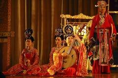 Chińscy aktorzy Zdjęcia Stock