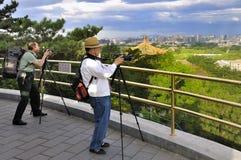 chińscy fotografowie Zdjęcie Stock