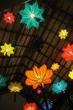 Chińscy lampiony w Tajlandia Zdjęcia Royalty Free
