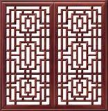 chińscy okno Fotografia Royalty Free
